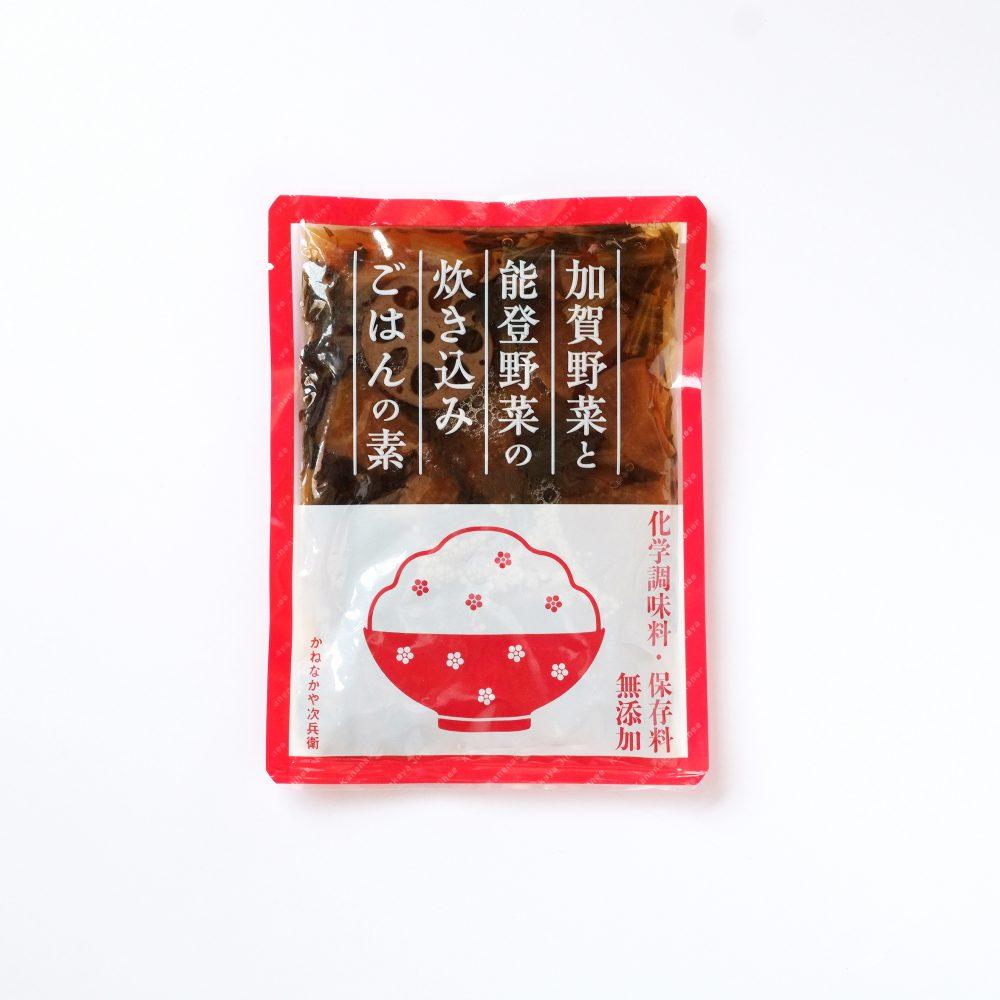 カネナカ食品炊き込みご飯の素パッケージ